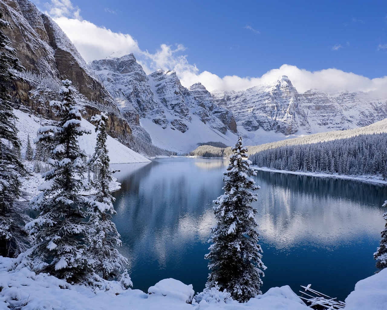 Snow covered mountains by CN Photography | Nature | Stock Photography