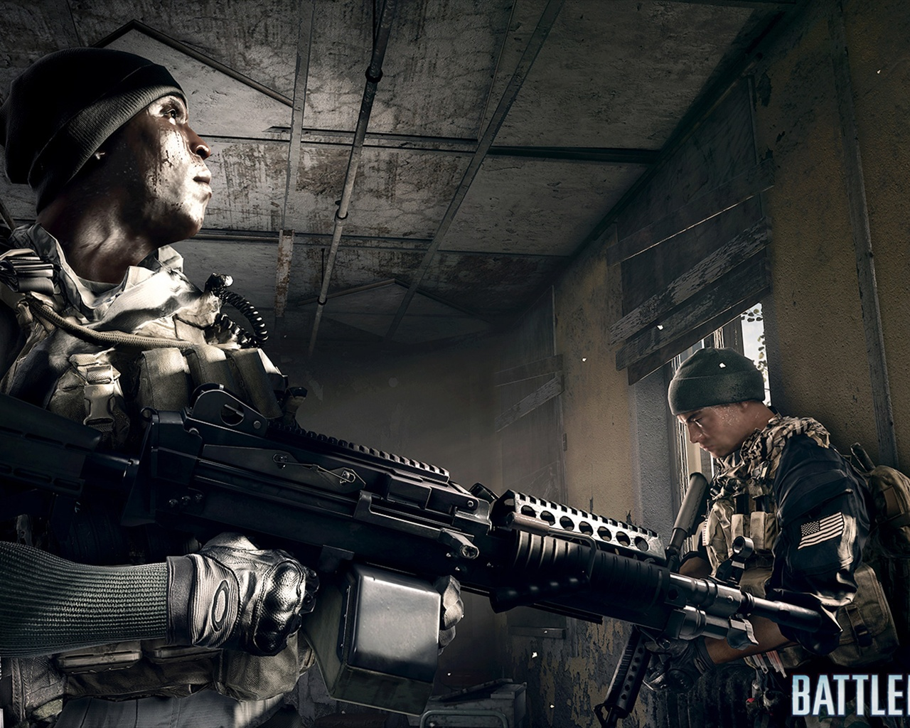 Download Wallpaper 1280x1024 Battlefield 4 Soldiers In