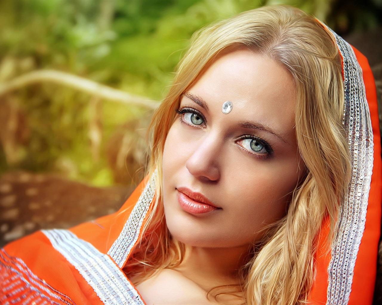 Fonds d 39 cran t l charger 1280x1024 portrait fille for Fond ecran portrait
