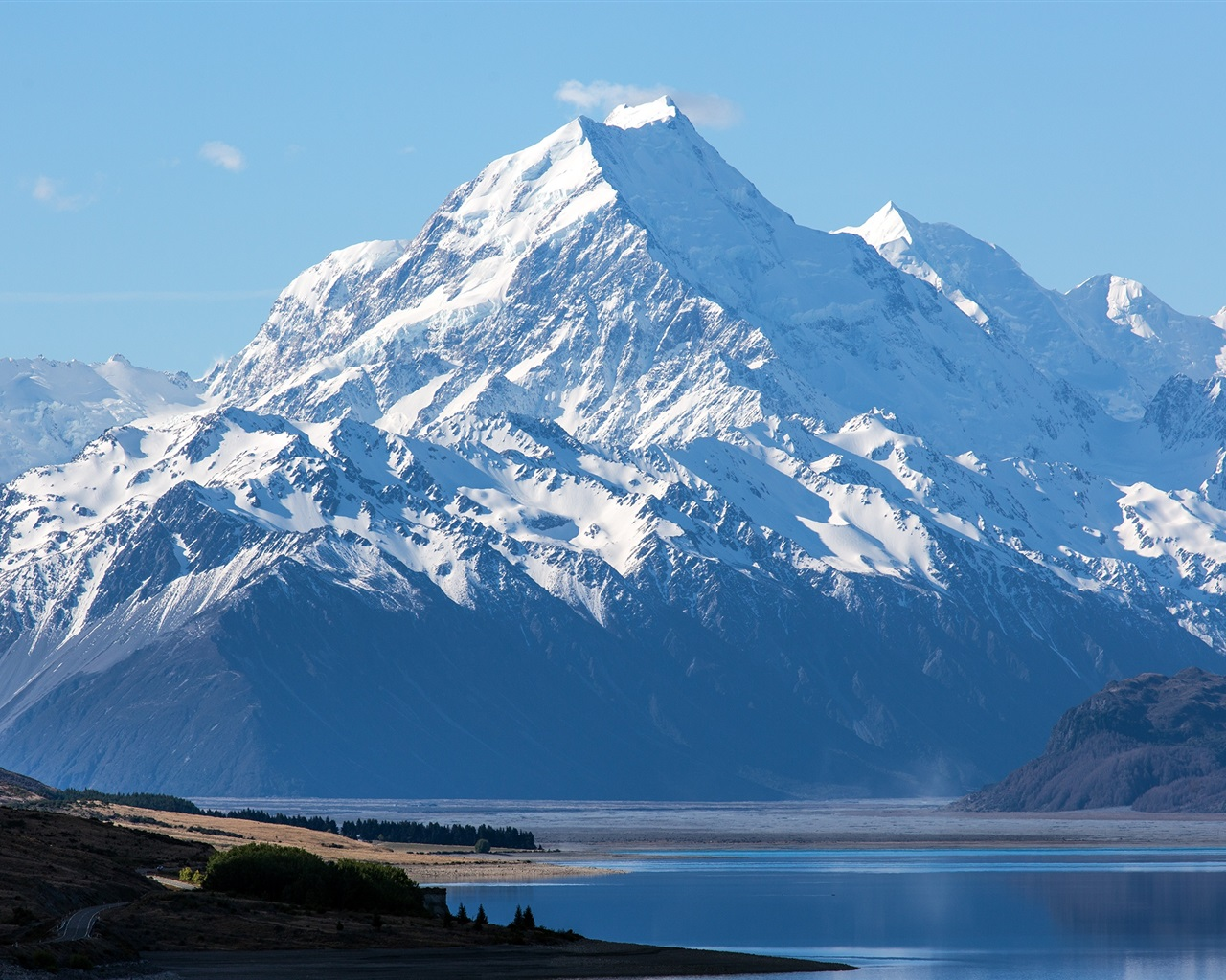 Wallpaper New Zealand, Mount Cook, Aoraki National Park