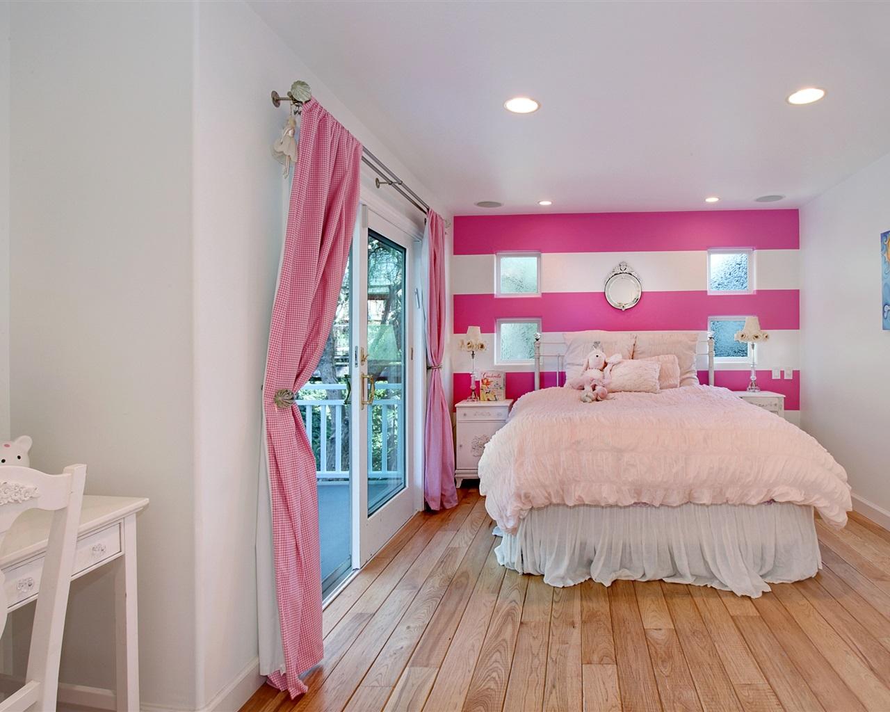 Download wallpaper 1280x1024 interior design bedroom bed for Interior design bedroom hd
