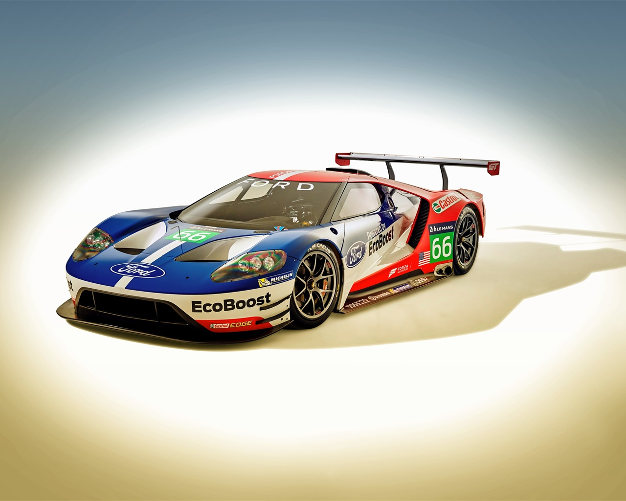 2016 Ford GT Le Mans Race Car