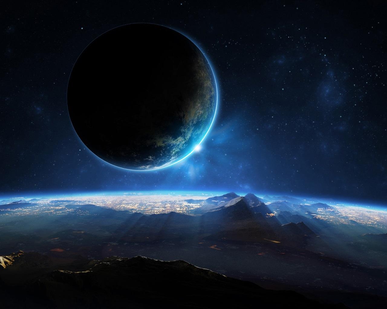惑星、宇宙、科学Fiの、光、山 壁紙 - 128... 惑星、宇宙、科学Fiの、光、山 壁紙 |