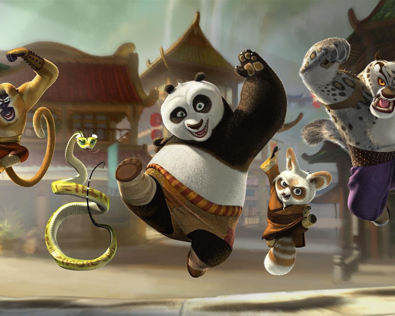 Fonds d 39 cran kung fu panda 3 d part heureux 2560x1920 hd - Kung fu panda 3 telecharger ...
