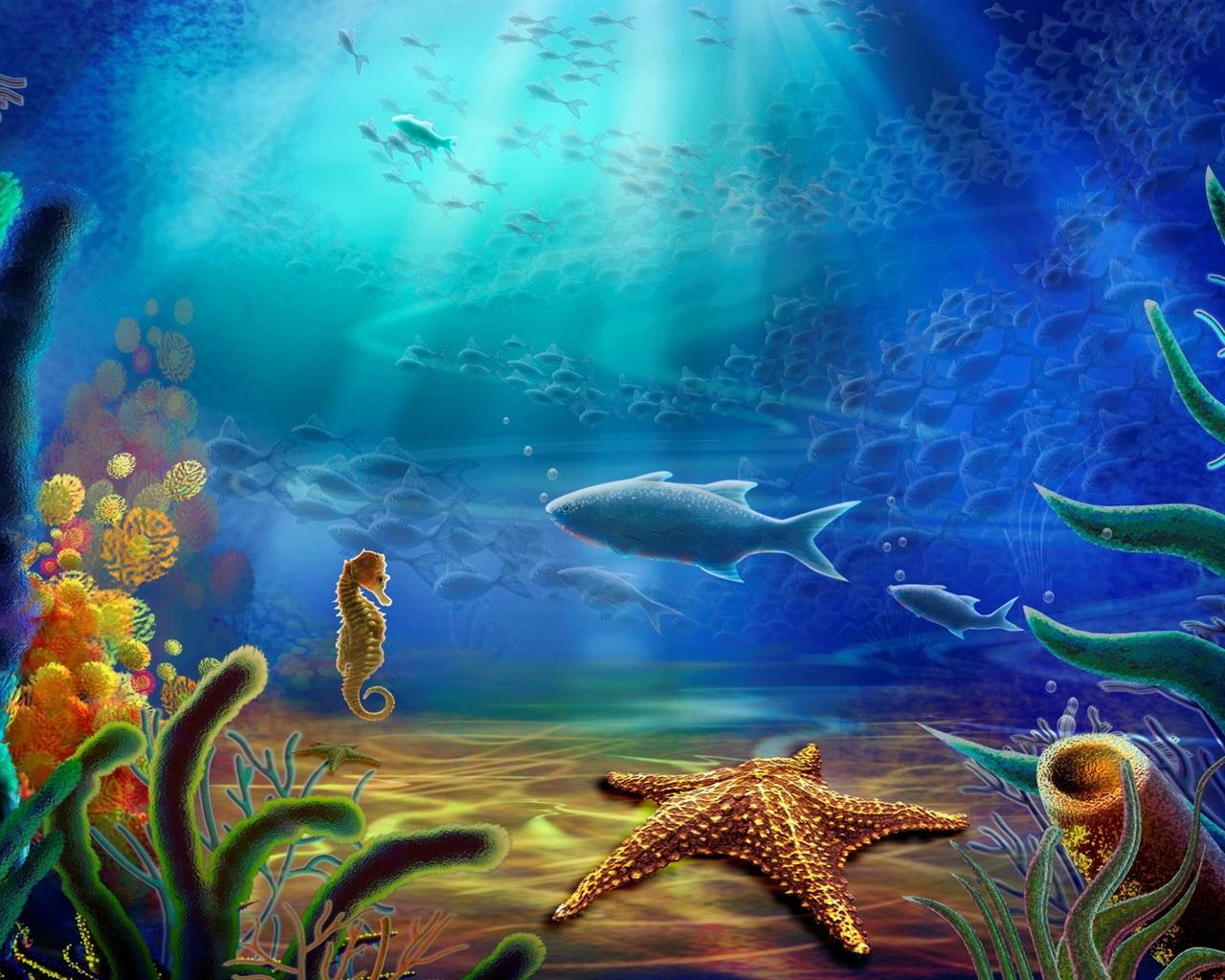 fondos de pantalla animales de mar de fondo peces