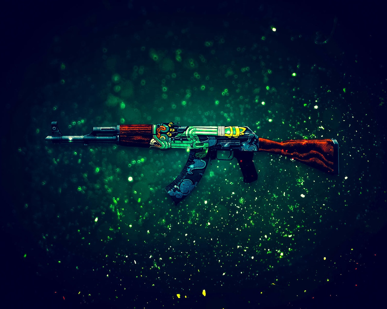 Papéis De Parede CS GO Jogo, Rifle De Assalto AK-47