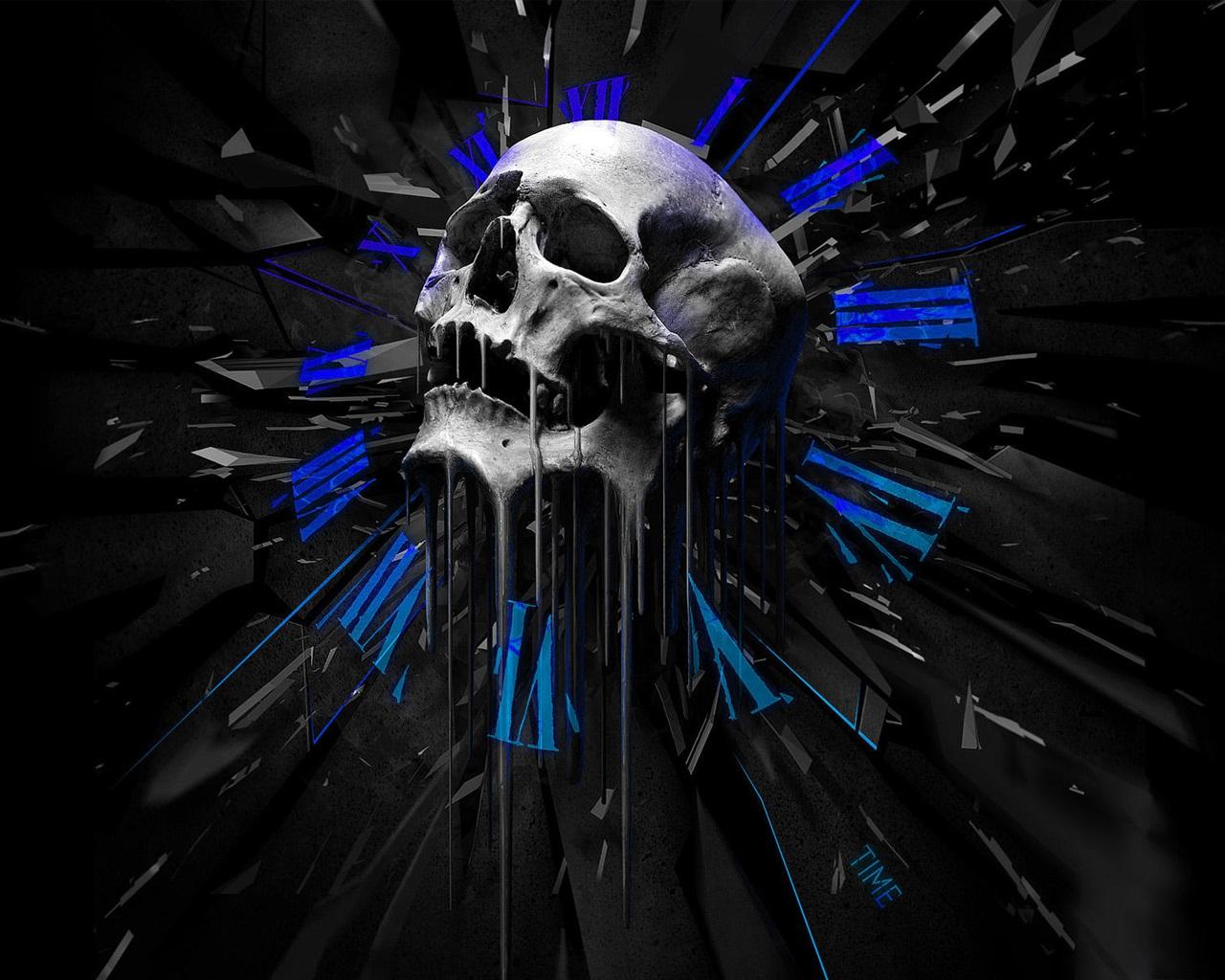 Wallpaper Skull Creative Design 1920x1200 Hd Picture Image
