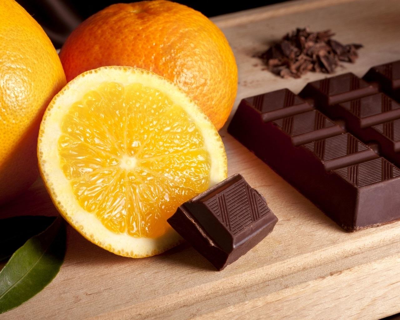 Fondos De Pantalla De Chocolates: Naranjas Y Chocolate Fondos De Pantalla