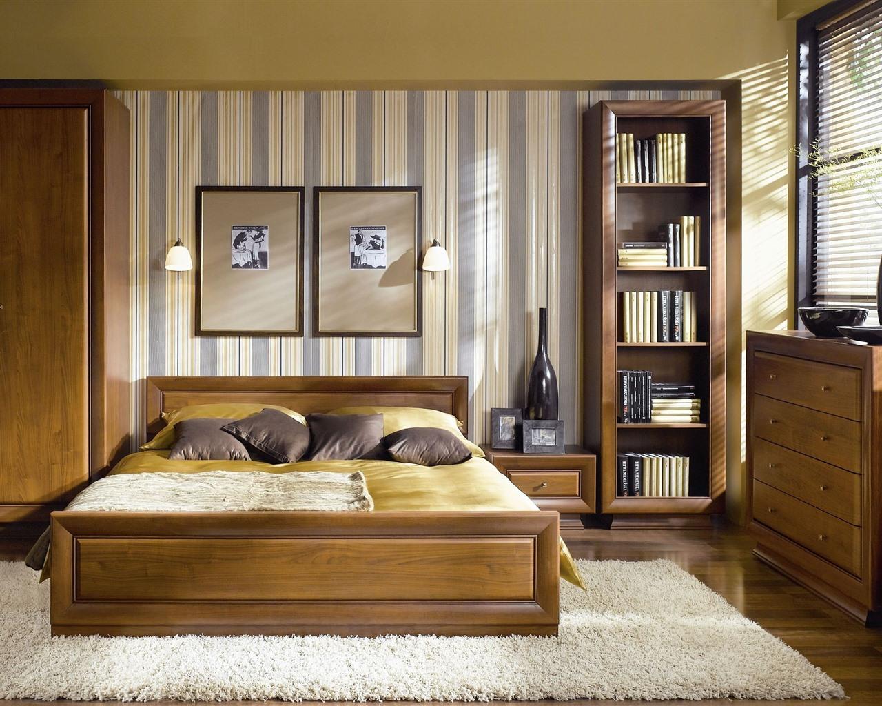 Wallpaper Bedroom, bed, interior, windows 2880x1800 HD ...