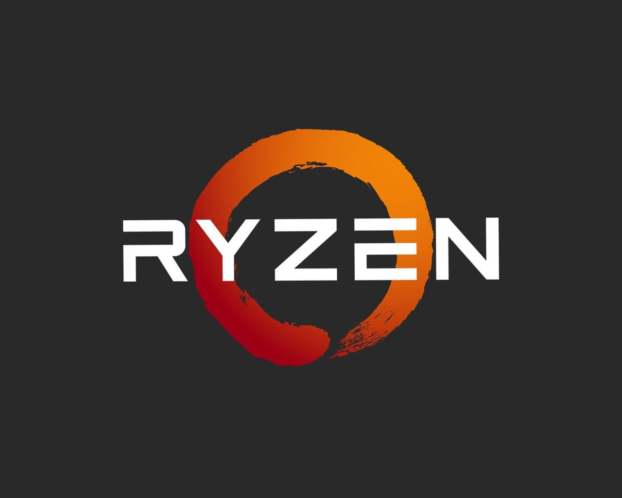 Wallpaper Amd Ryzen Processor Logo 2560x1440 Qhd Picture Image
