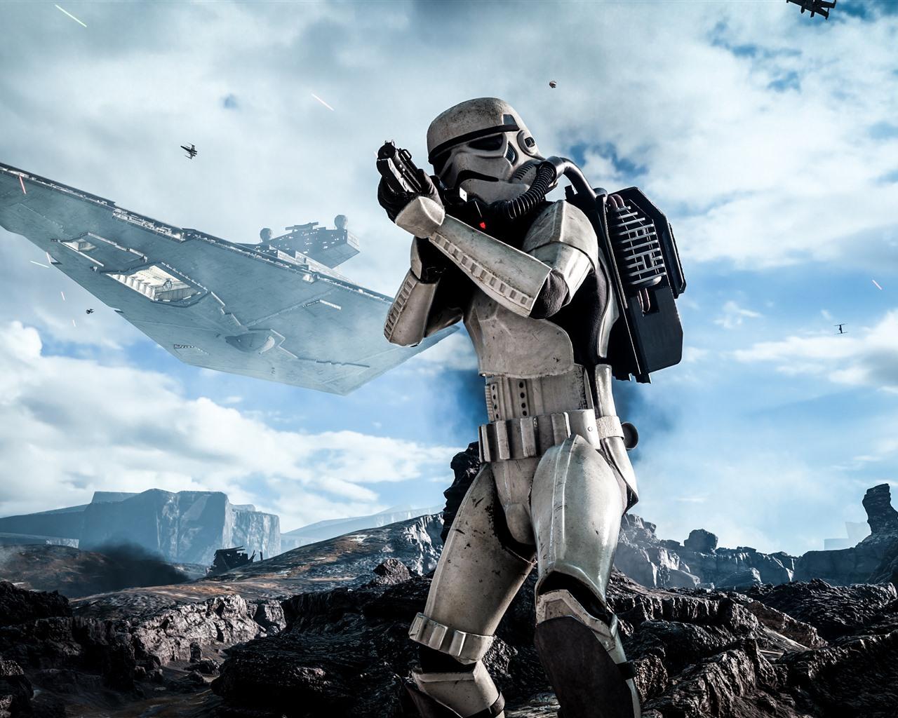 Star Wars: Battlefront, Soldier 1080x1920 IPhone 8/7/6/6S