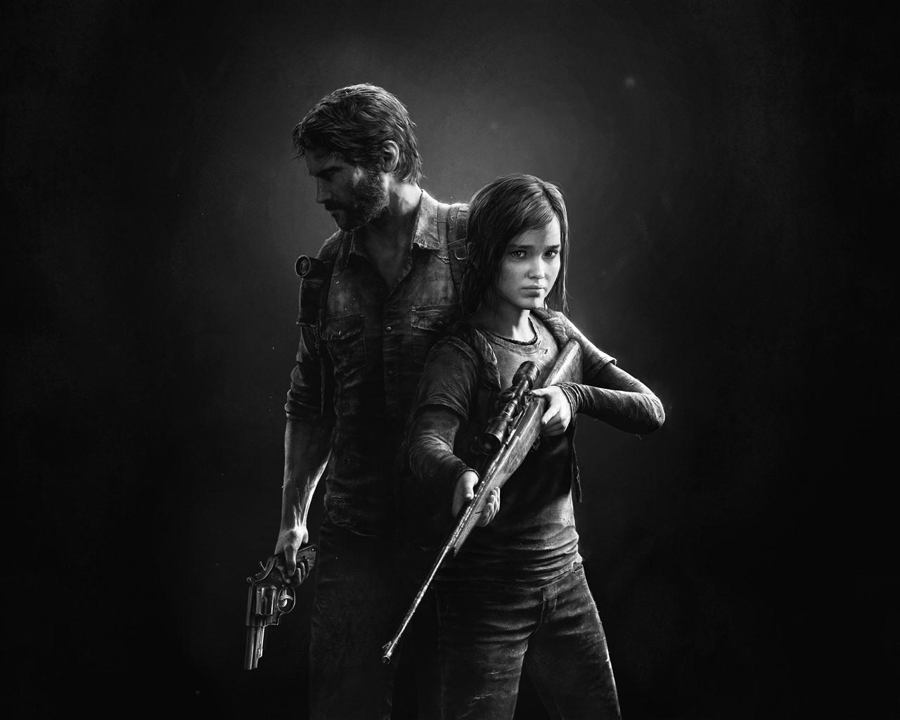 210 The Last Of Us Papéis De Parede Hd: Papéis De Parede O último De Nós, Retrato Preto E Branco