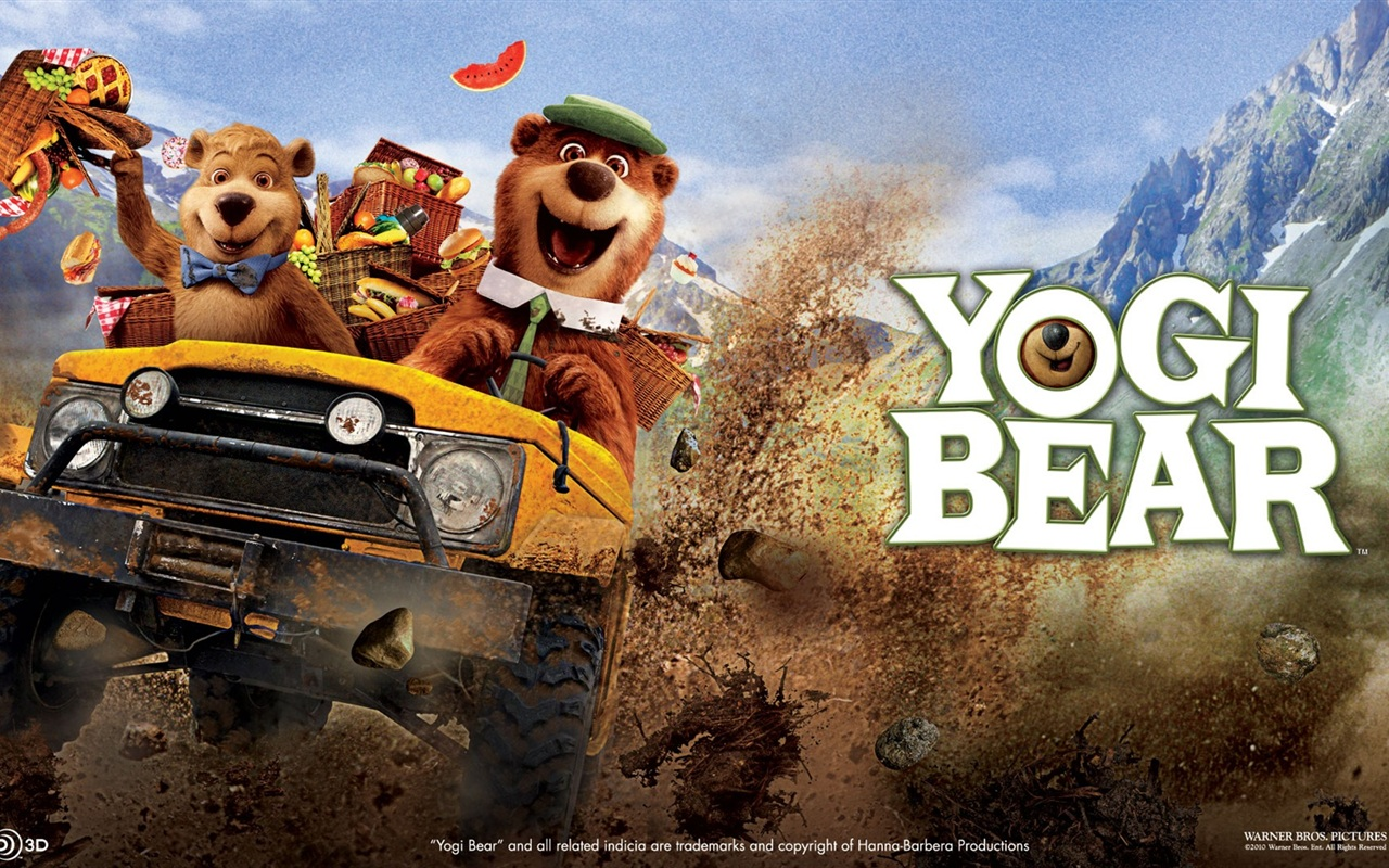 Yogi Bear wallpaper - 1280x800