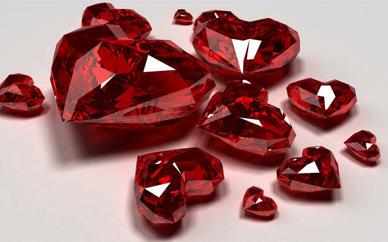 Jewelry of ruby close-up wallpaper - 1280x800