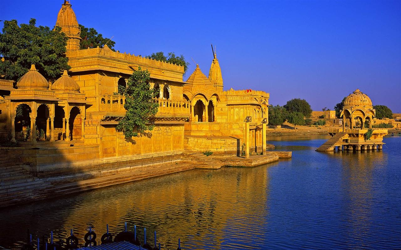 印度的建筑风格 壁纸图片