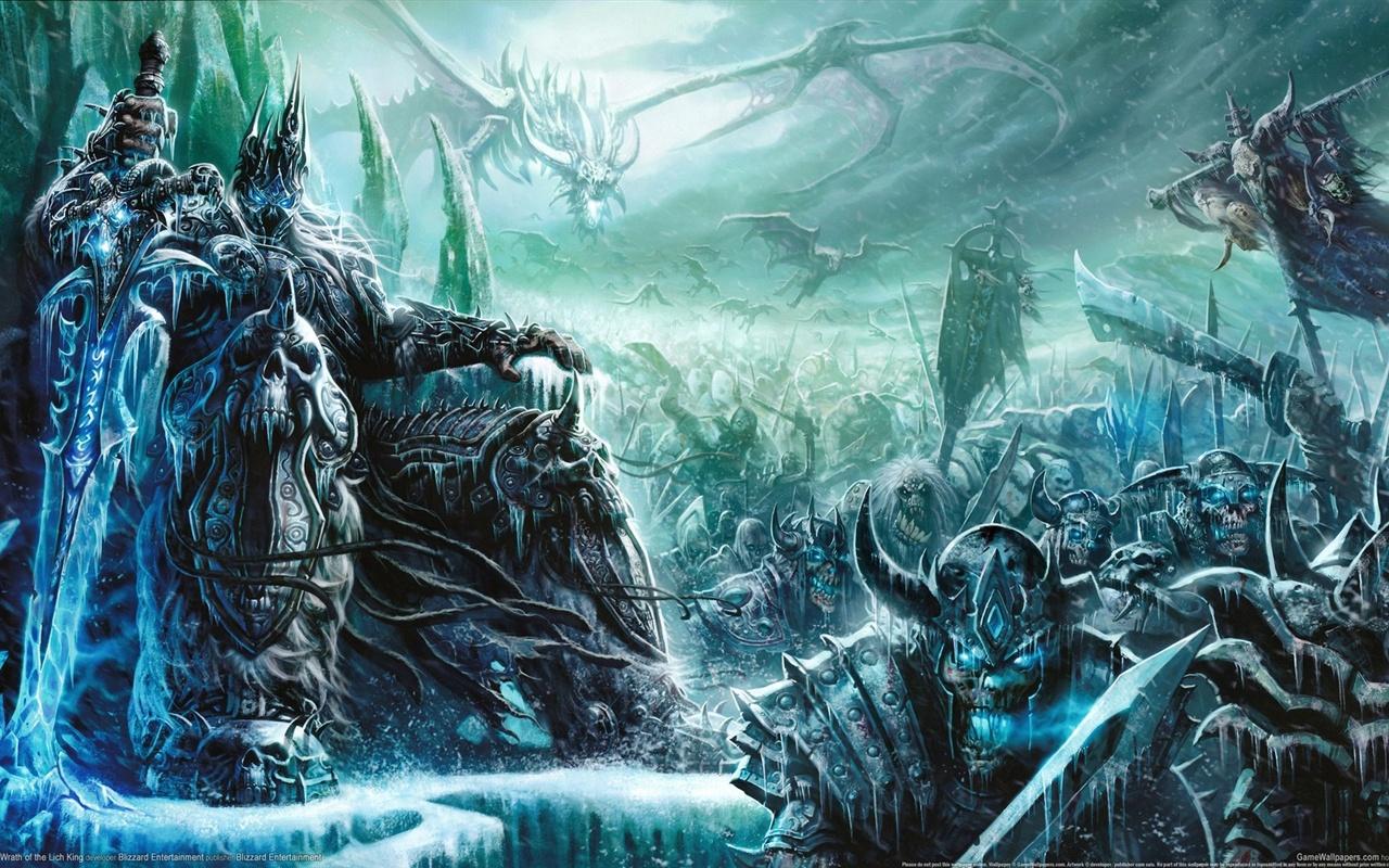 魔兽巫妖王之怒_魔兽世界:巫妖王之怒 壁纸 - 1280x800