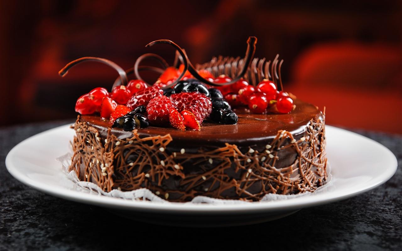 Download Wallpaper 1280x800 Fragrant Taste Of Chocolate