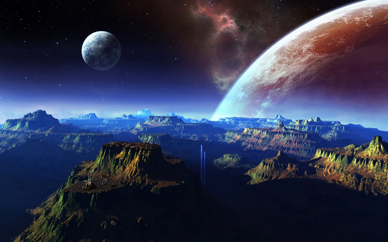 картинки пейзажи планеты торжественный светлый праздник