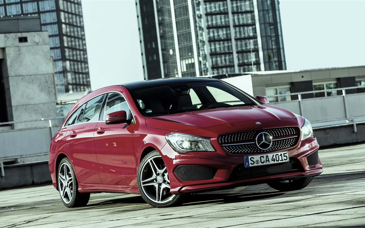 Download wallpaper 1280x800 2015 mercedes benz cla 250 red for Red mercedes benz cla