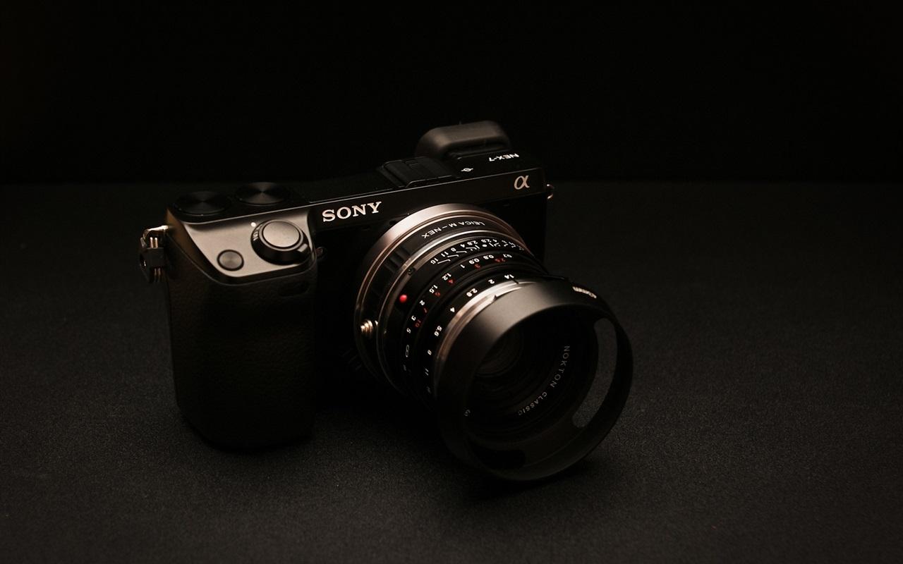 Fonds d 39 cran sony nex 7 appareil photo num rique for Ecran photo sony