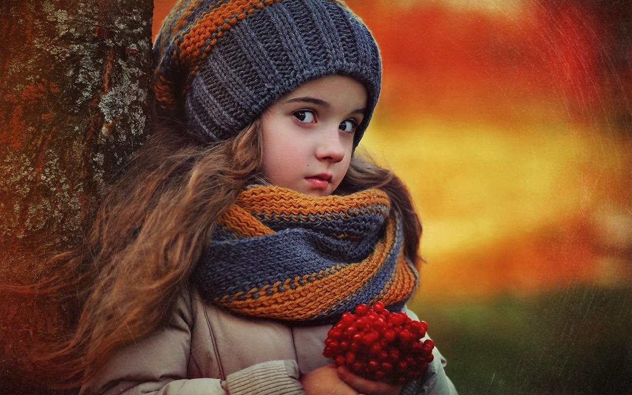 Осеннее вязание для девочки 36