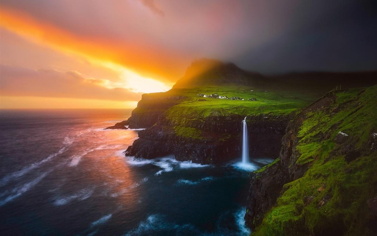 Download wallpaper 1280x800 lofoten islands beautiful - Wallpapers 1280x800 nature ...