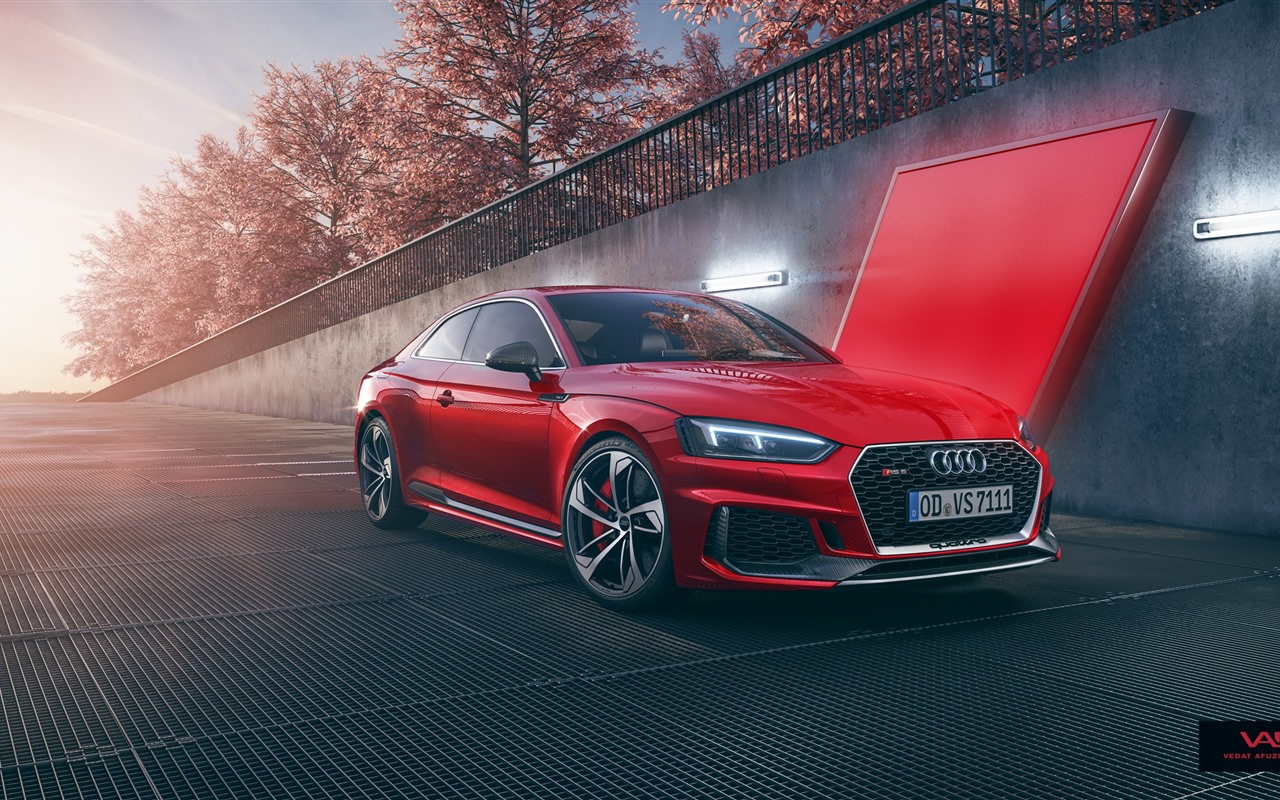 Wallpaper Audi Rs5 Red Car 2560x1440 Qhd Picture Image