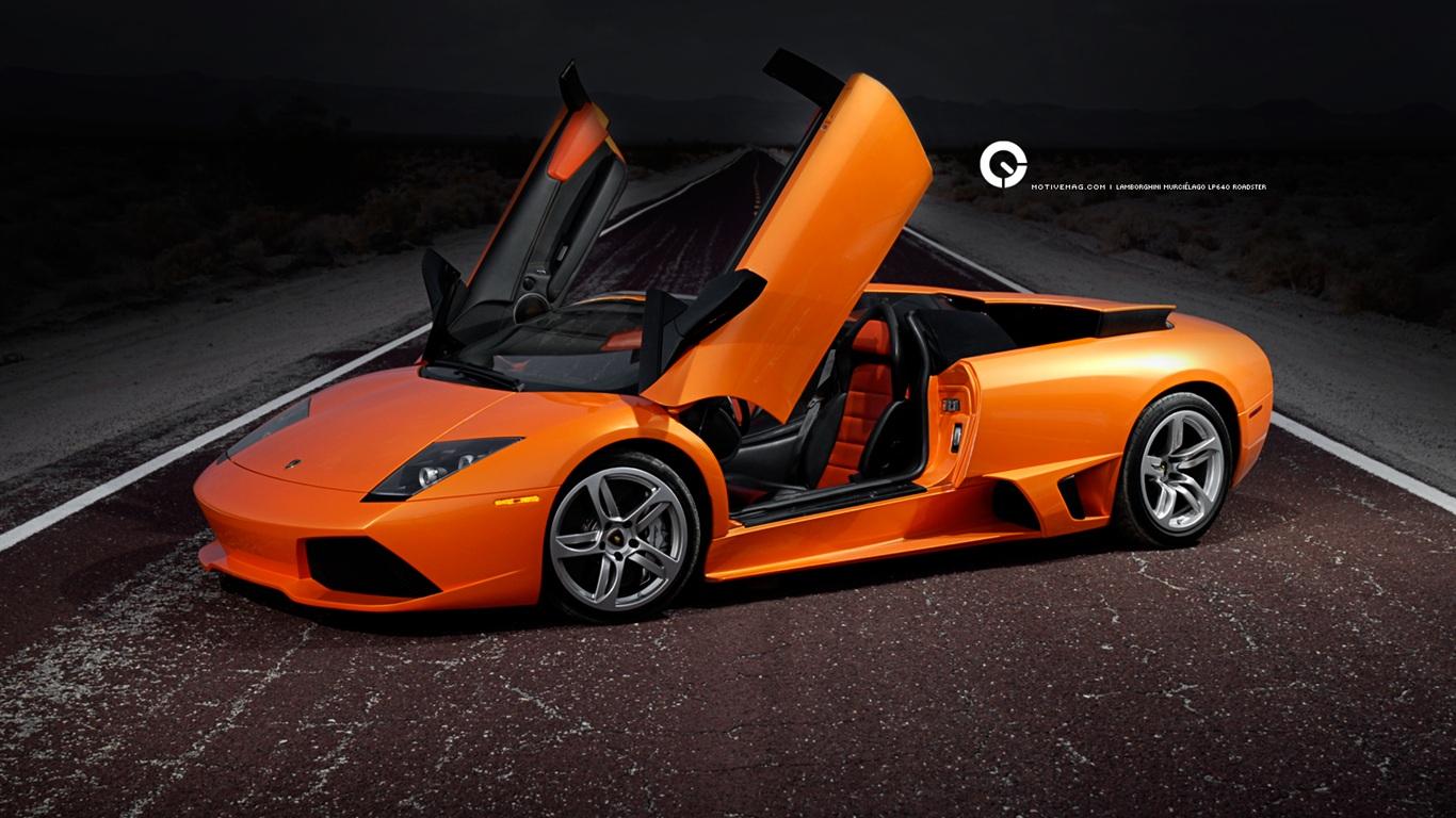 Lamborghini Murcielago Lp640 Hintergrundbilder 1366x768