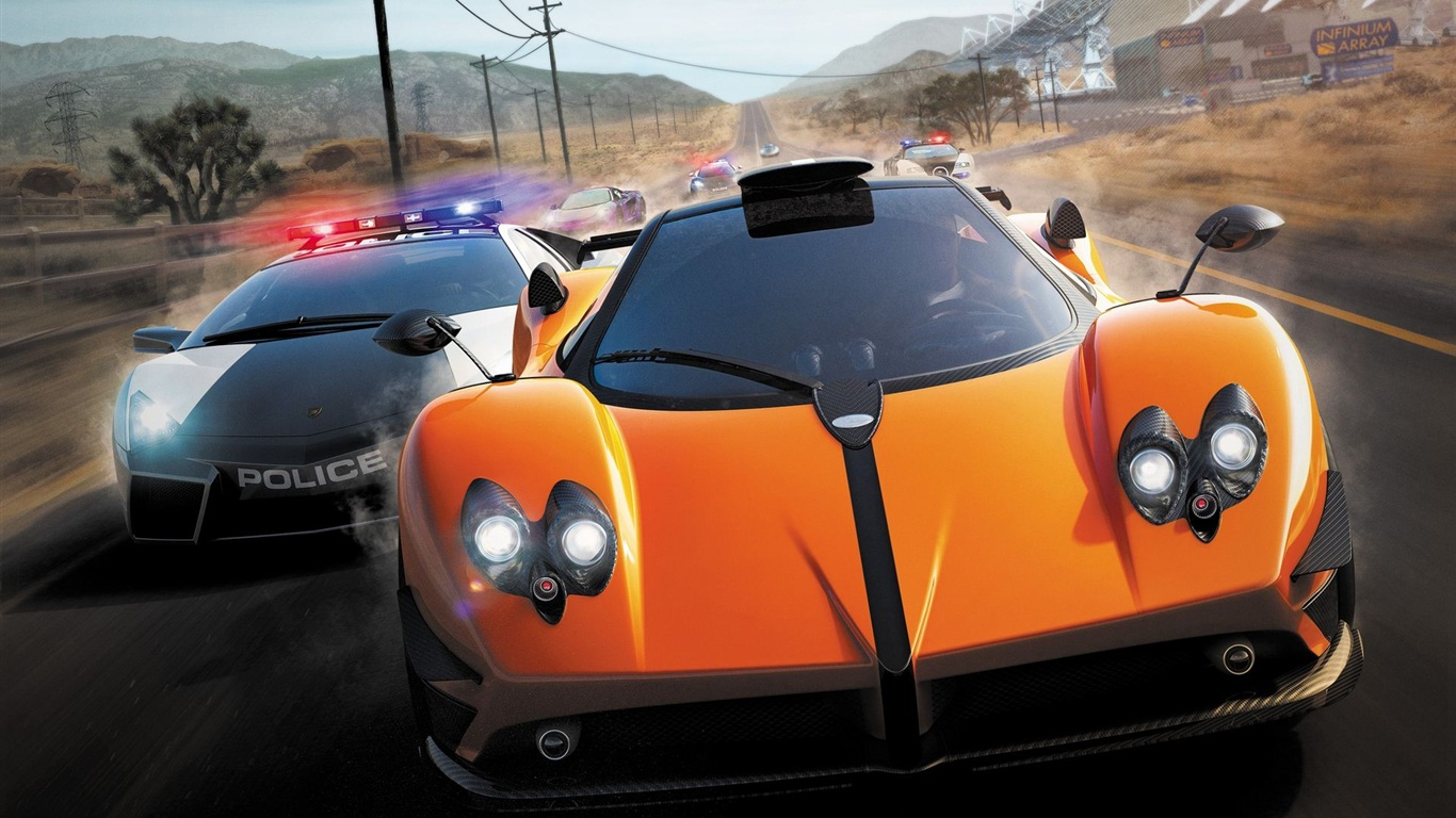 Wallpaper Need For Speed Hot Pursuit Hd 1920x1200 Hd