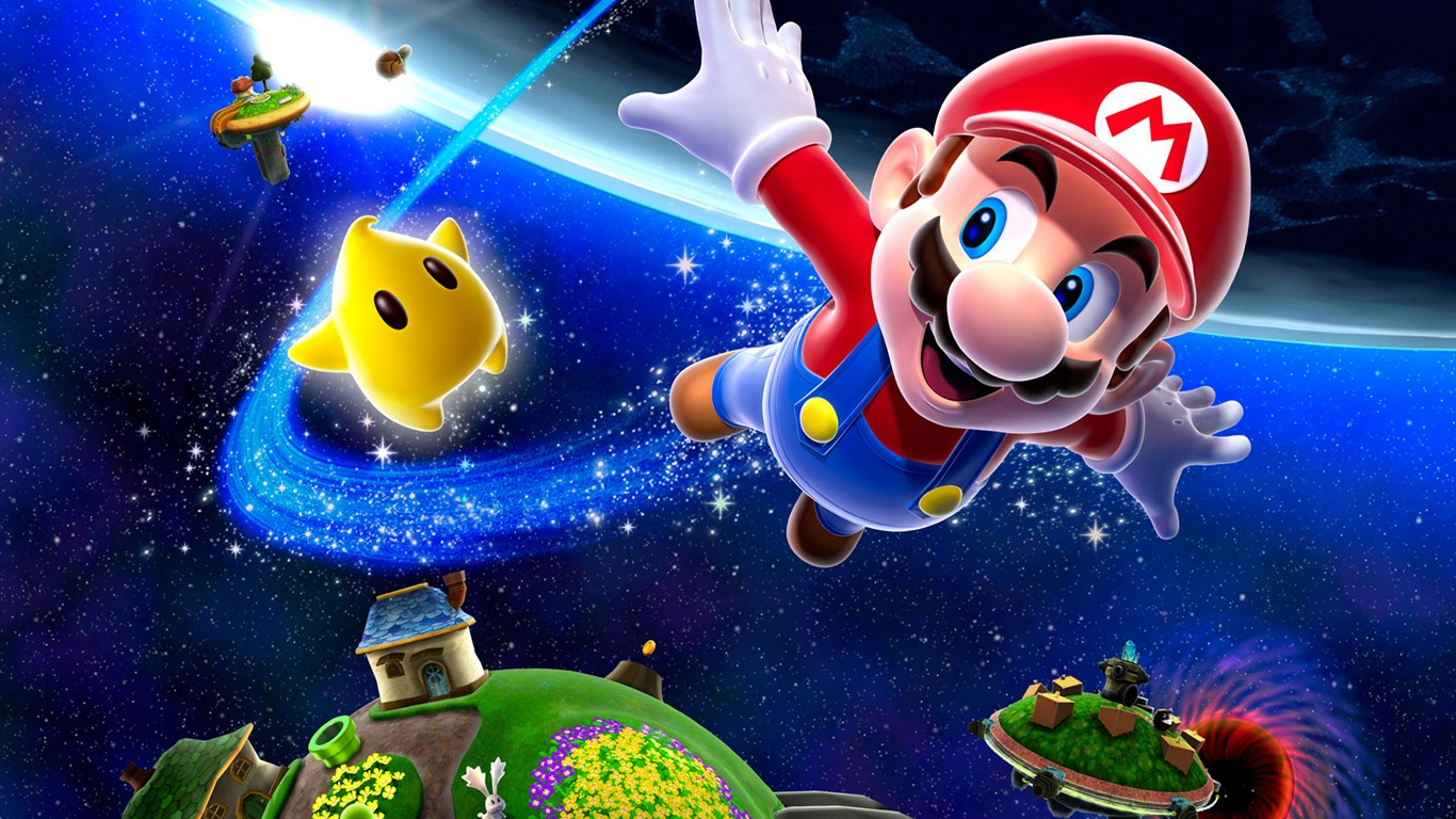 wallpaper super mario 3d modeling 1920x1200 hd picture, image