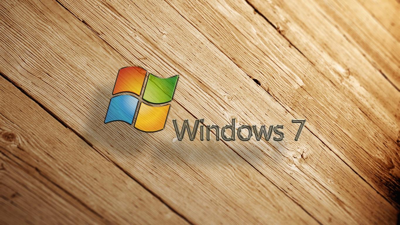 Fondos De Pantalla Windows7 Madera De Fondo 1920x1200 Hd Imagen