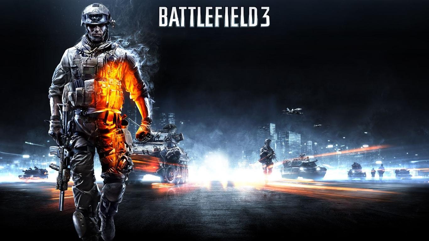Download Wallpaper 1366x768 Battlefield 3 HD Background