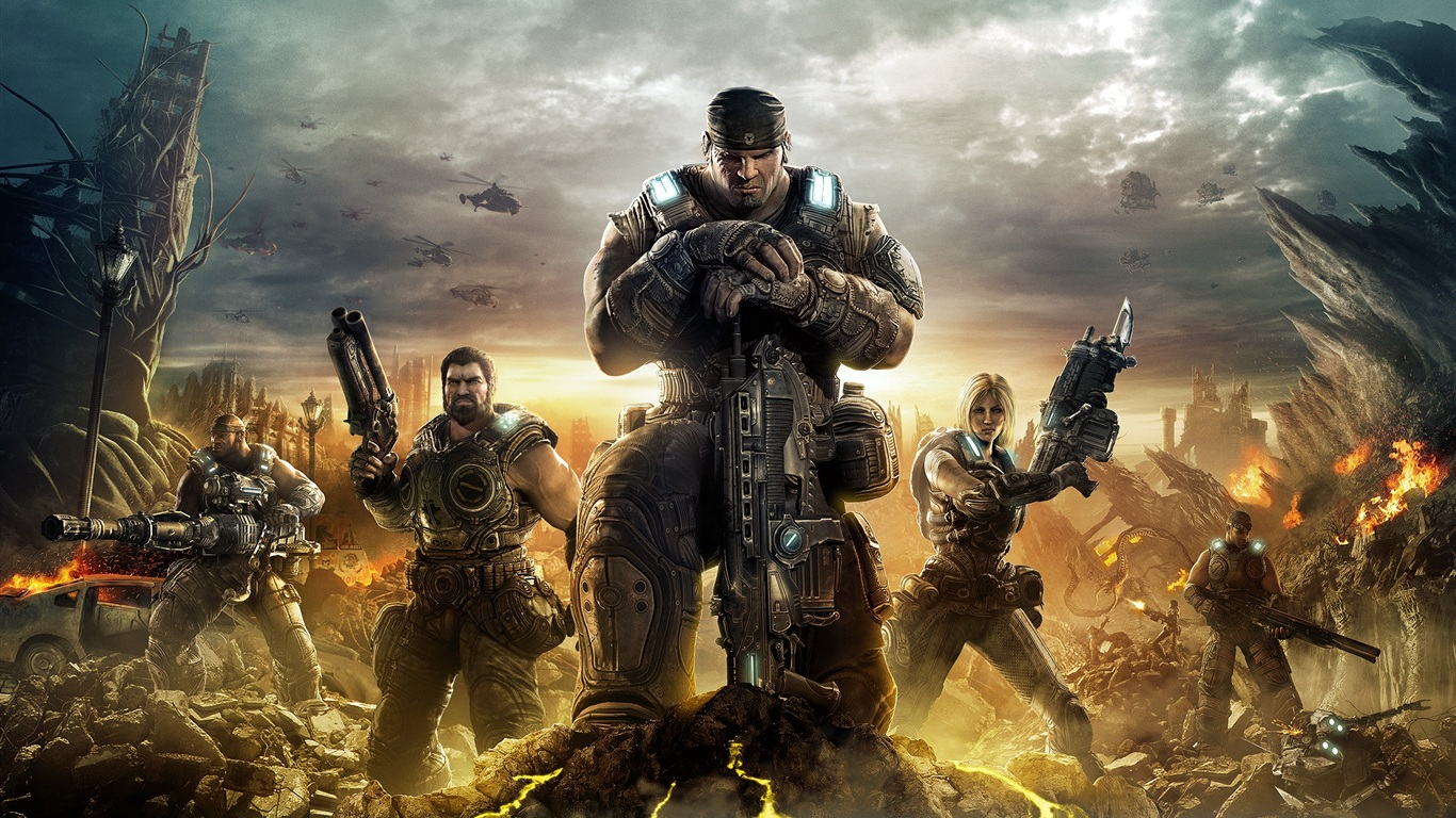 Wallpaper Gears Of War 3 2560x1600 Hd Picture Image