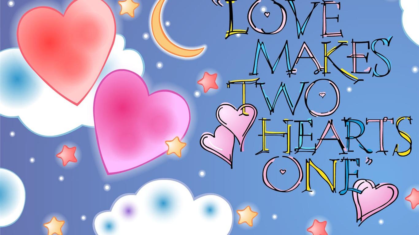 hearts wallpaper 1280x800 1366x768 - photo #7