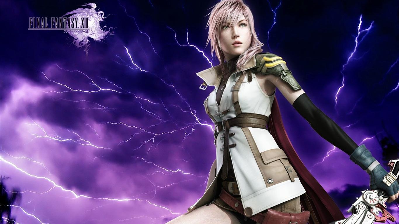 Final Fantasy 13 Lightning Wallpaper | 1366x768 resolution ...