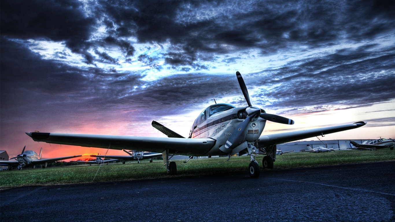 Wallpaper small private aircraft 1920x1080 full hd 2k - Boeing wallpapers for desktop ...