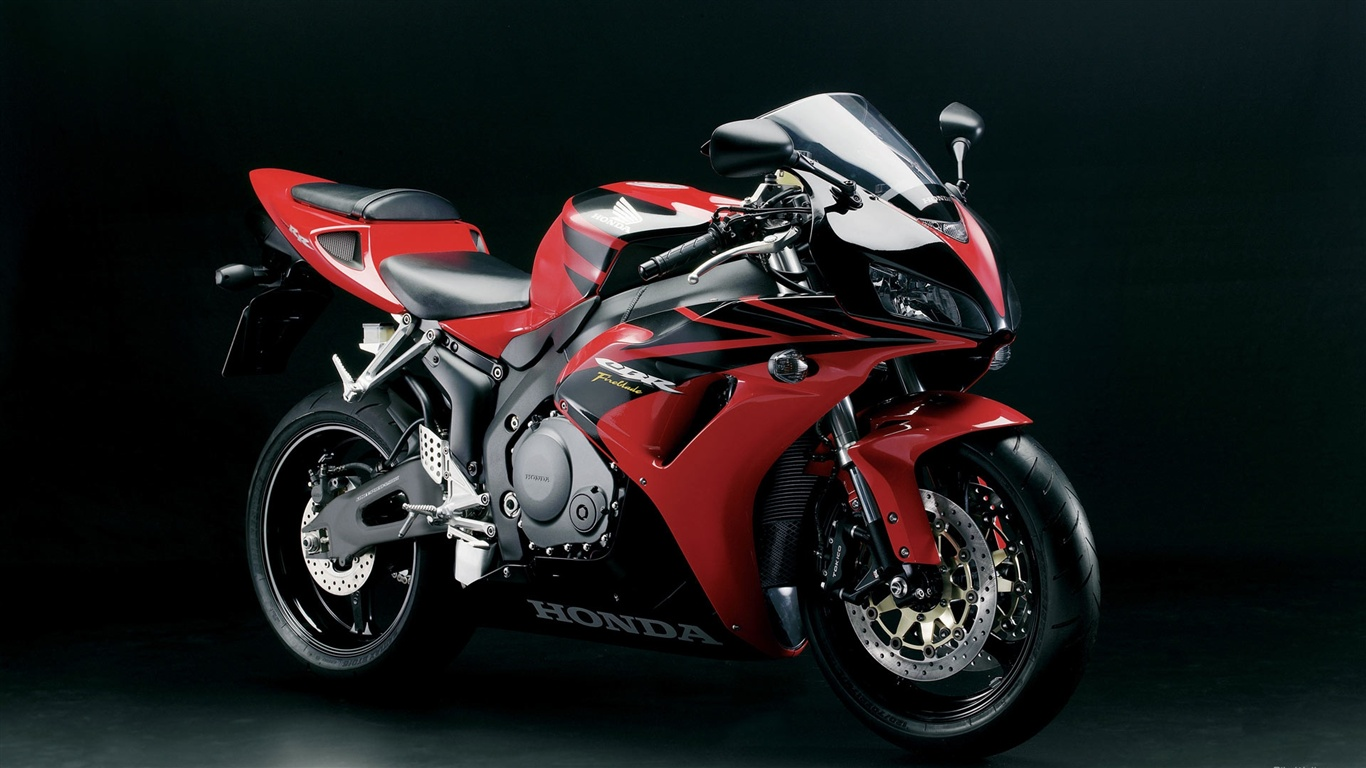 Honda sportbike motorcycles wallpaper - 1366x768
