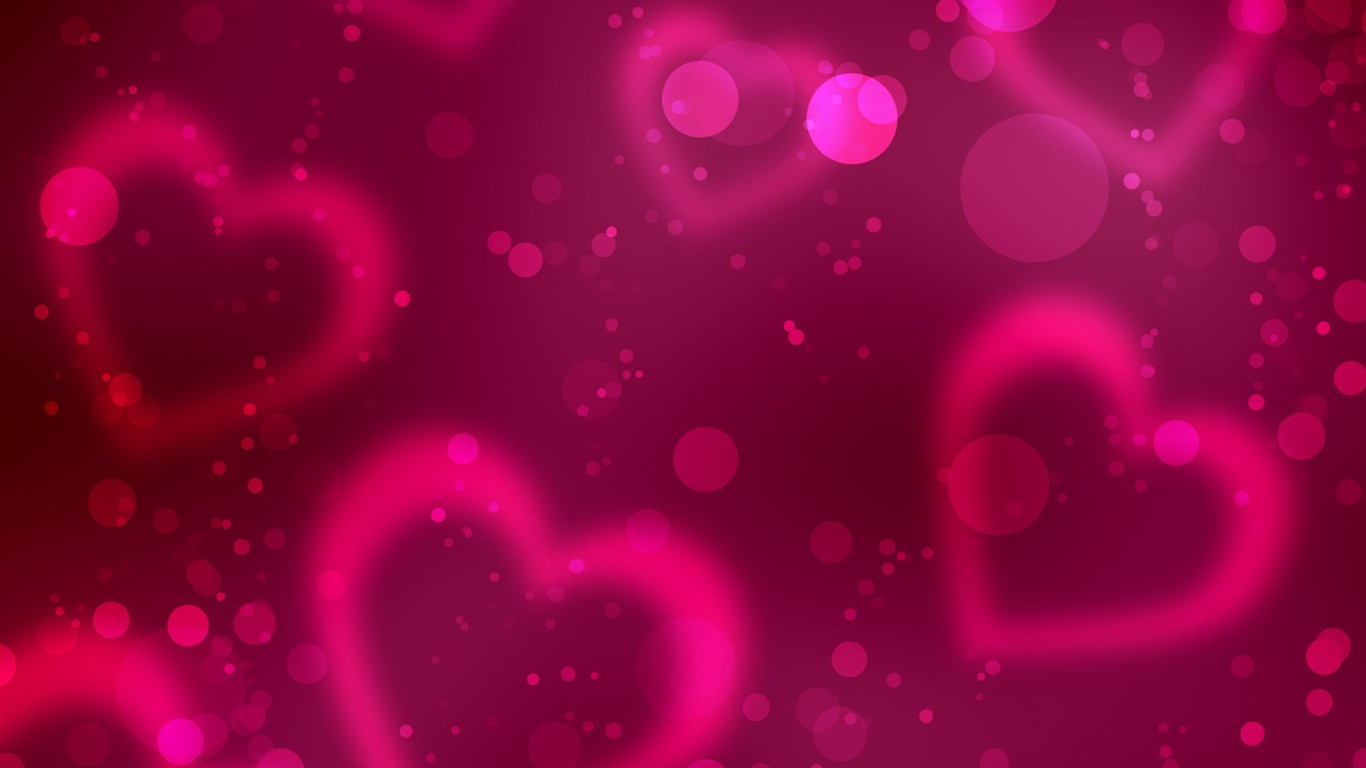 day red heart wallpaper 1366x768 description valentine s day red heart ...