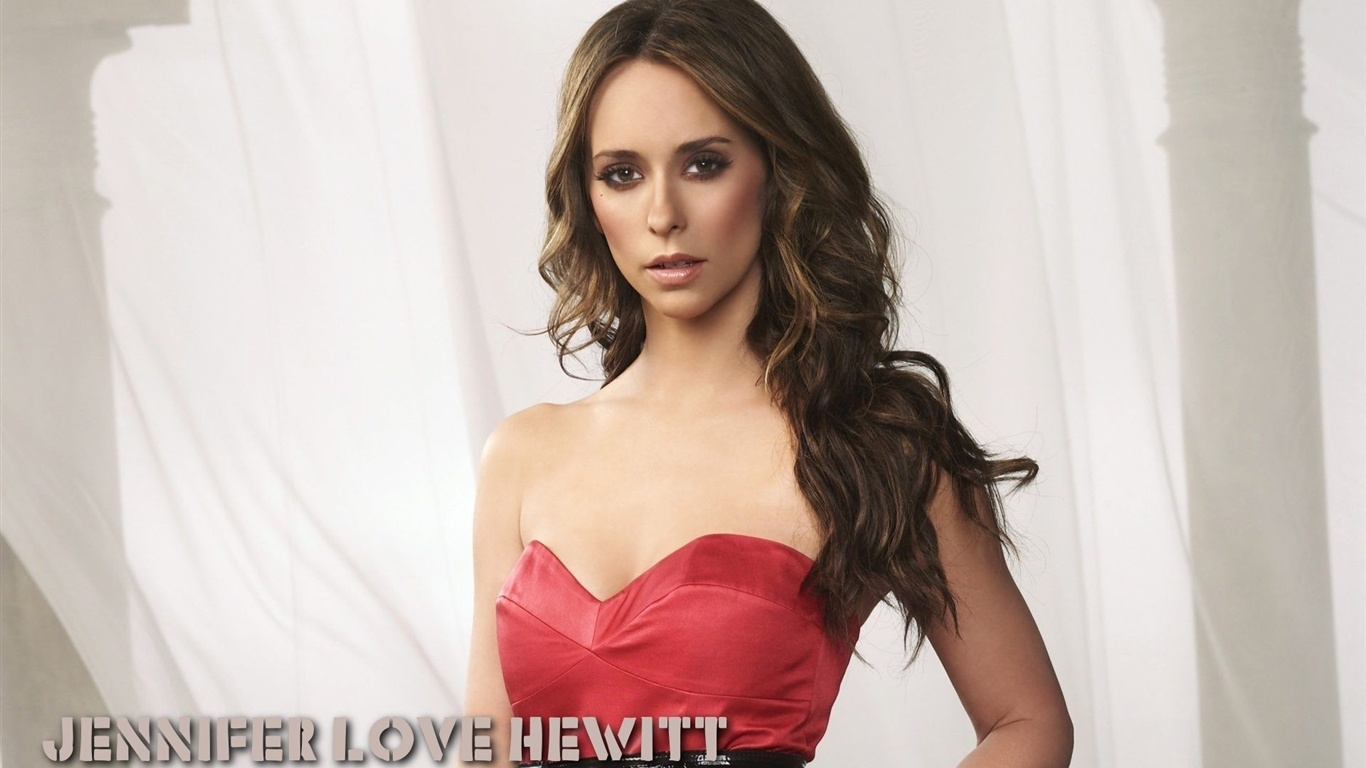 Jennifer Love Hewitt 01 wallpaper - 1366x768