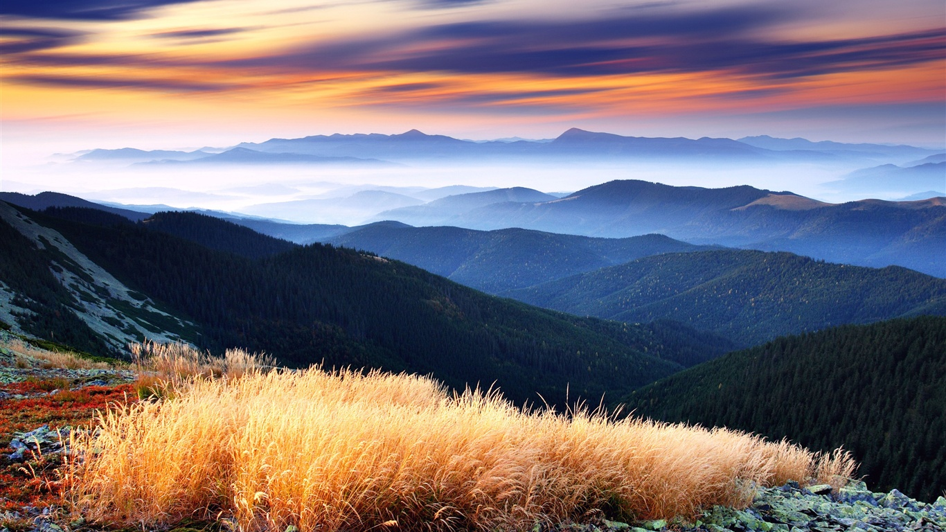 landscape mountain beautiful wallpaper - photo #17