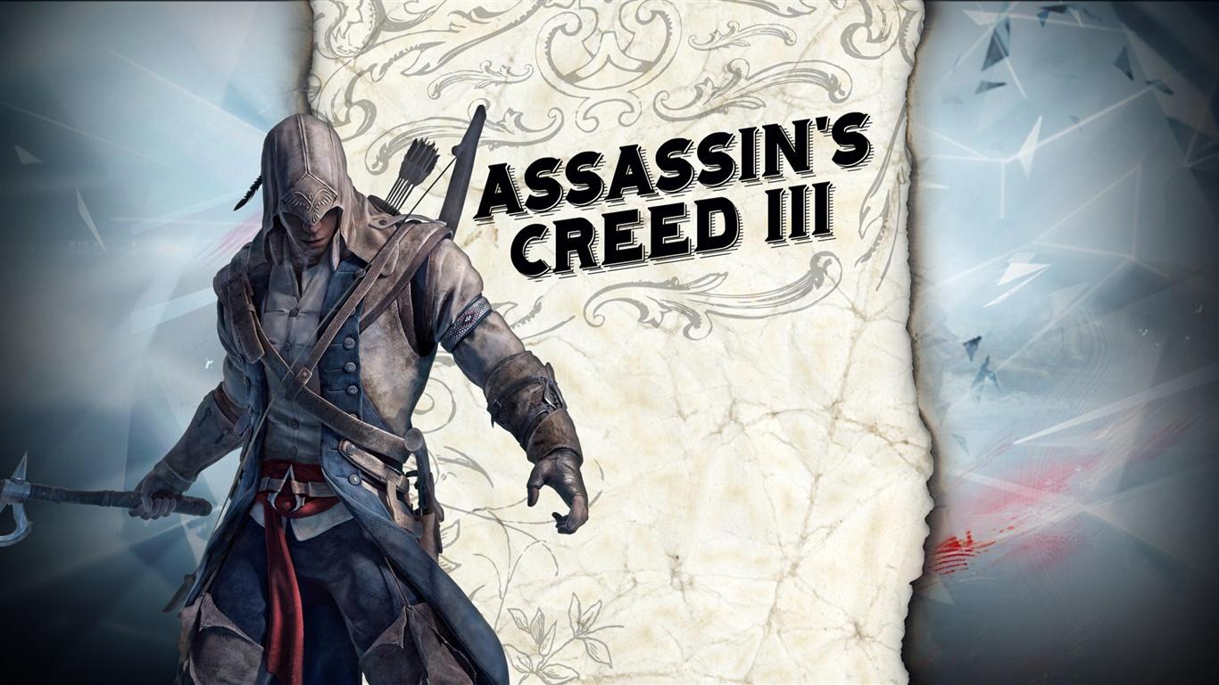 download wallpaper 1366x768 assassins creed iii hd hd