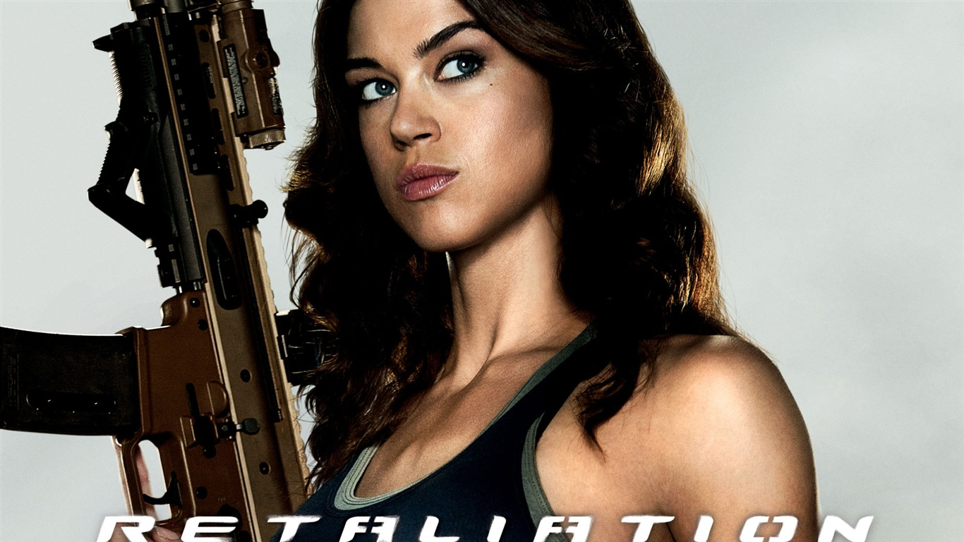 Download Wallpaper 1366x768 Adrianne Palicki in G.I. Joe ...