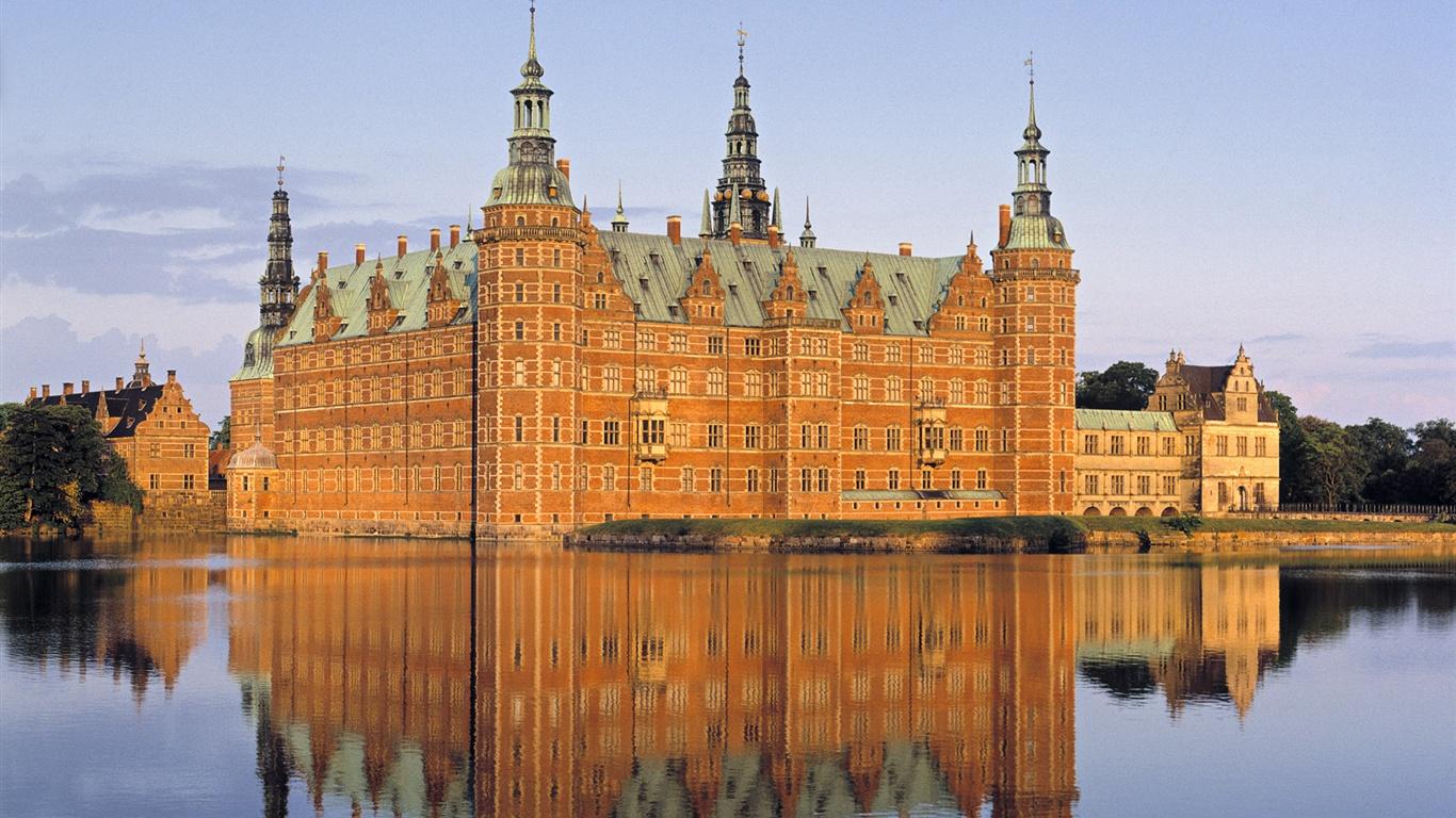 壁纸 在丹麦的城堡 1920x1200 HD 高清壁纸, 图片, 照片