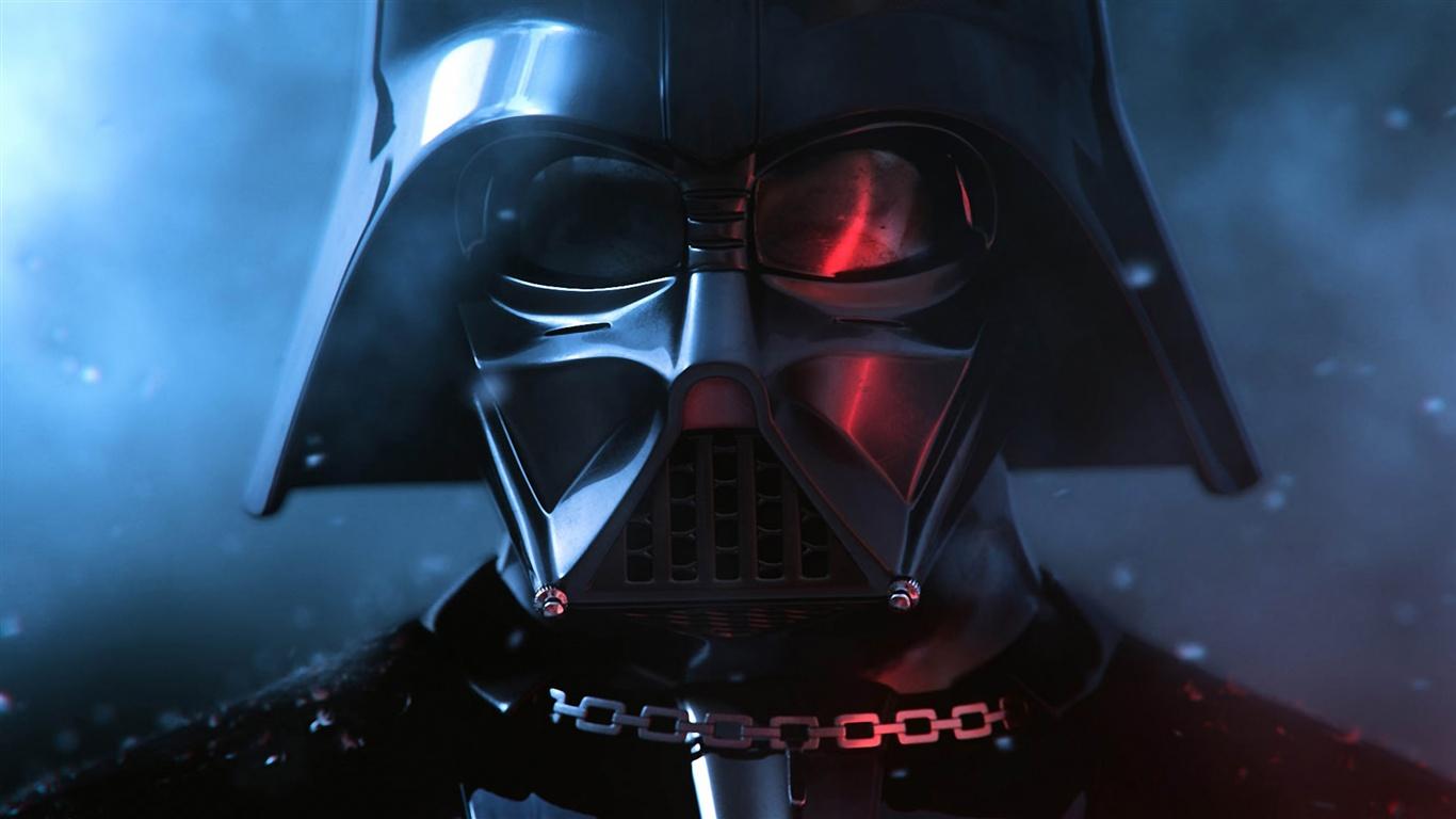Star wars darth vader fonds d écran 1366x768