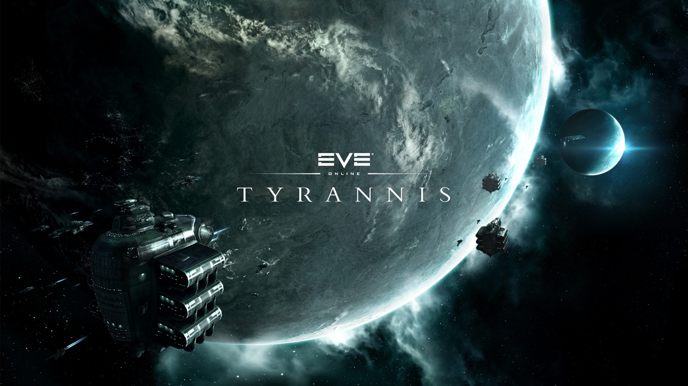 Eve Online: Tyrannis HD wallpaper - 1366x768