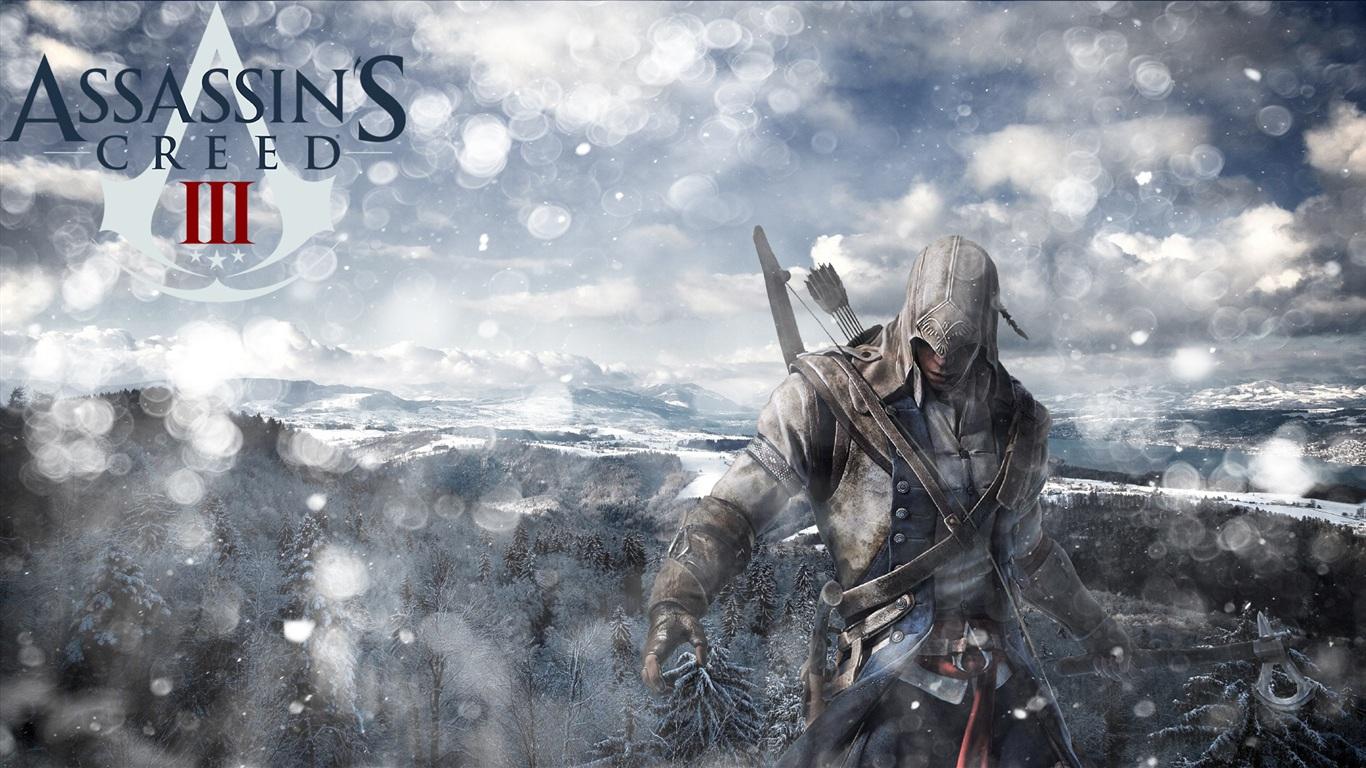download wallpaper 1366x768 assassins creed 3 hd 2012 hd