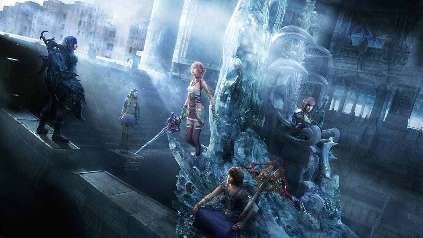 Final Fantasy Xv Characters Video Game 4k Hd Desktop: 壁紙 ファイナルファンタジーXIII-2のPCゲーム 1680x1050 HD 無料のデスクトップの背景, 画像