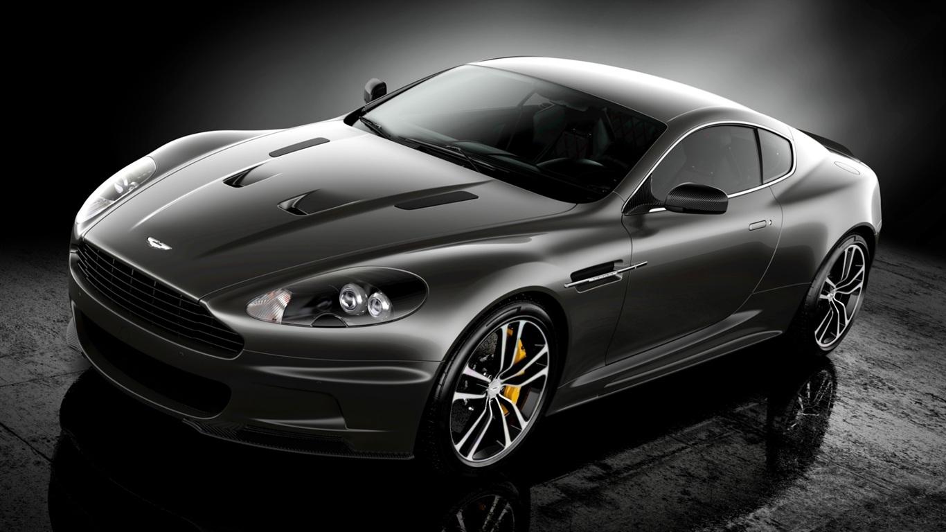 Wallpaper Aston Martin Supercar Black Color 1920x1200 Hd Picture Image