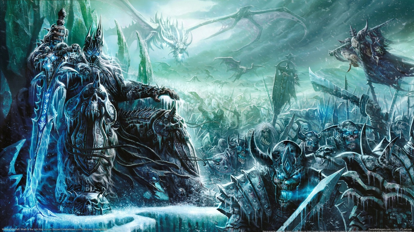 Wallpaper World Of Warcraft Wrath Of The Lich King 1920x1080 Full