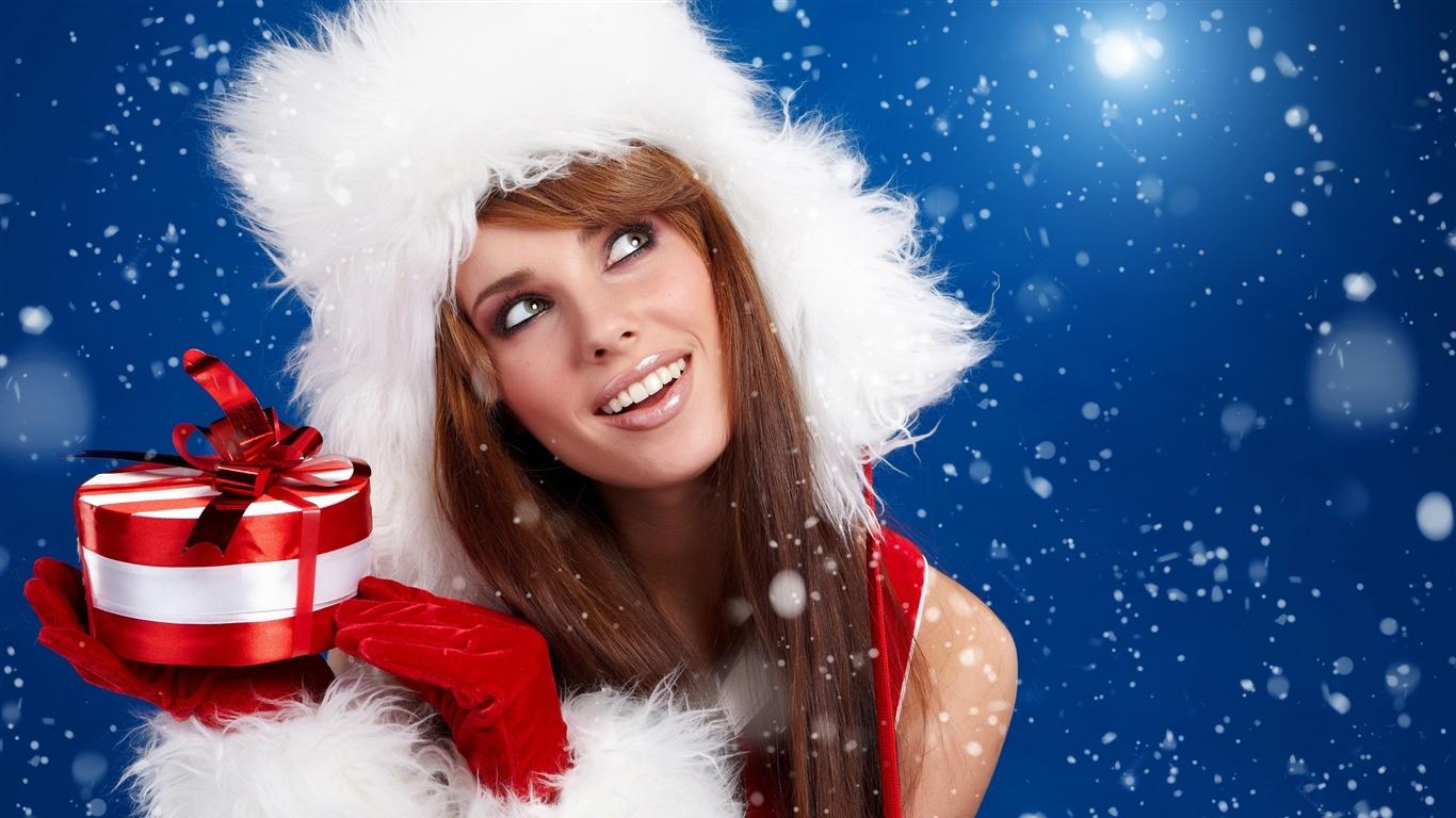 миловидная снегурочка  № 359451  скачать